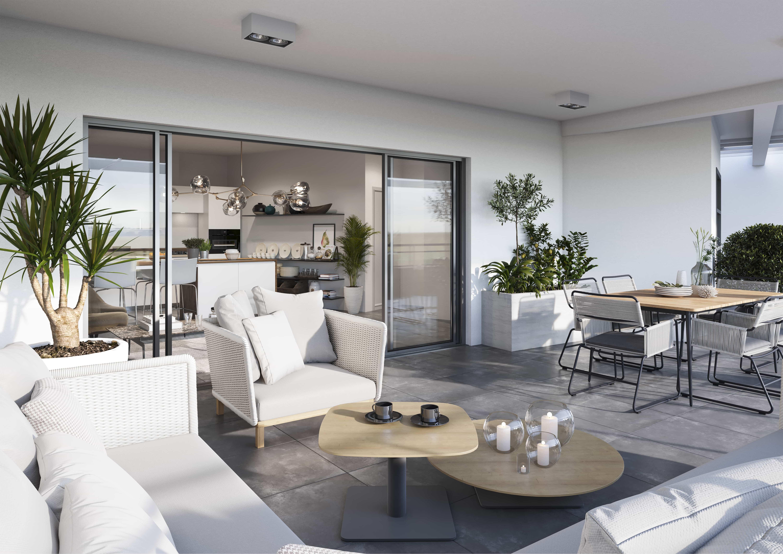terrasse vers interieur